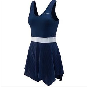 Nike Dri-Fit Tennis Serena Novelty Knit Dress L